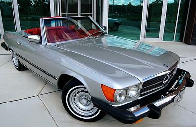 79 Mercedes 450 SL