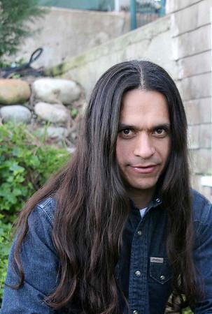Коренной американец Tim Gonzales. 2006г. Native American Tim Gonzales .