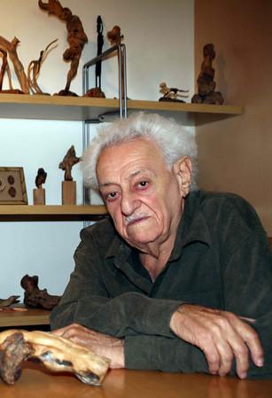 Советский художник Евг.Владимиров-93 года.