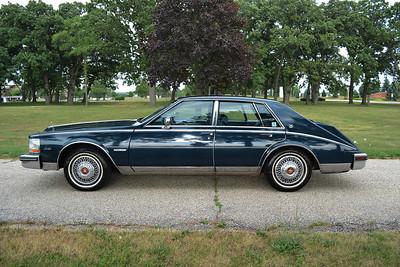 82 Cadillac Seville bussel back - parkwardmuseum