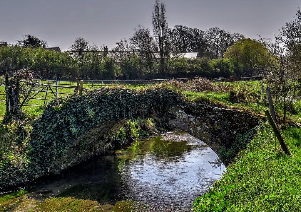 This bridge looks quite old