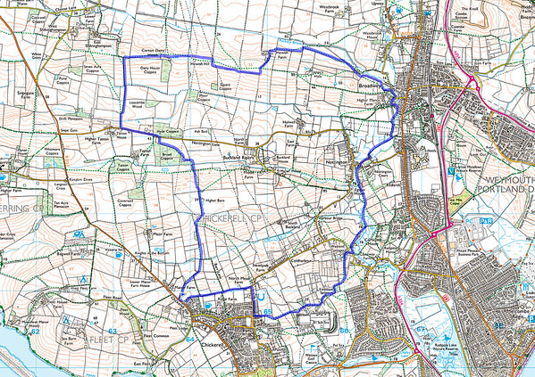 8.6 miles from Chickerell 15.4.15 (or the missing loop!)