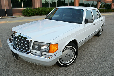 89 Mercedes 560 SEL