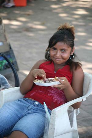 Мексиканская девочка. 2007