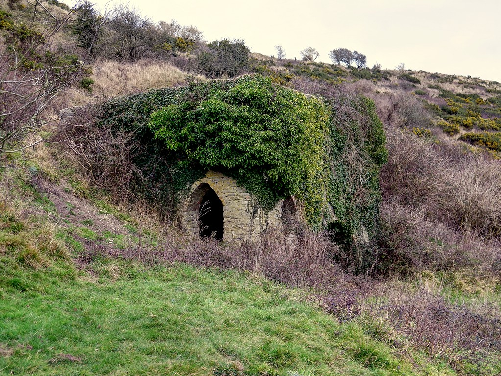 Church Knowle Lime Kiln.