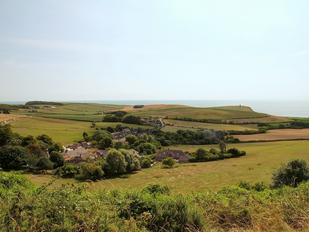 Kimmeridge village.