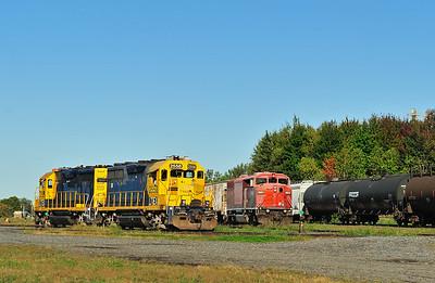 Central Maine & Quebec 9022, Farnham Qc October 1 2015.