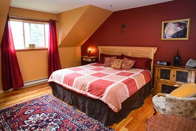 Master Bedroom on second floor.