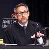 John P. Cleary | The Herald Bulletin<br /> The Indiana Supreme Court held oral arguments at Anderson University's Reardon Auditorium Wednesday. This is Justice Christopher Goff.