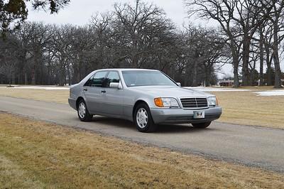 93 Mercedes 500SEL