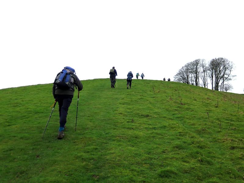 The long slog up Gerrard's Hill