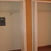 Bedroom two closets