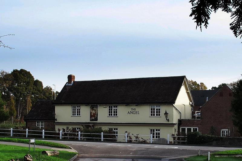 The Angel pub in Ferndown