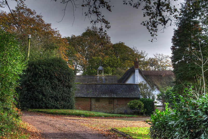 A cottage at Knoll Gardens, Stapehill.