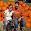 Jeff and Kelly McWhorter, along with their friend Ben Ammon and David Colbert, who were visiting from Austin, take a day trip to Bandera and Medina, Texas to visit the Love Creek Pumpkin patch and apple store.