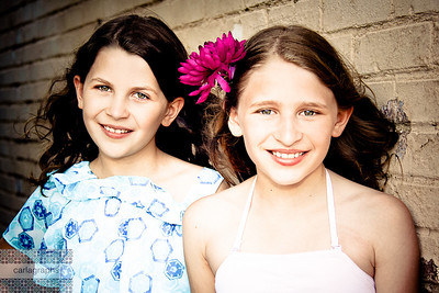 Beautiful Sisters Again! crop, art tint-