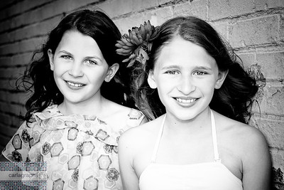 Beautiful Sisters Again! crop, bw-