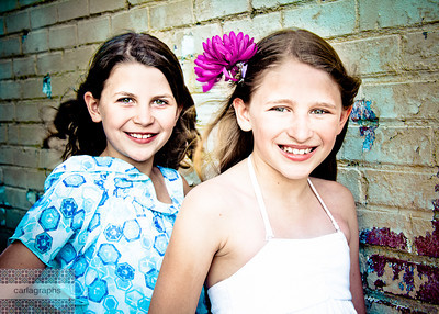 Beautiful Sisters art tint-