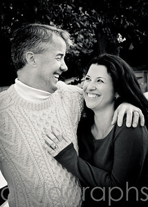love and laughter bw-3968