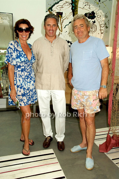 Lu Ann de Lesseps, Campion Platt, Alex de Lesseps<br /> photo by Rob Rich © 2008 robwayne1@aol.com 516-676-3939