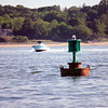 Trying out my new long-range lens... that signal was WAY out in the water at Hobart Beach!
