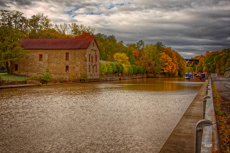 Erie Canal at Lockport, NY