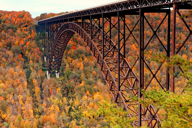View of the Bridge over the New River Gorge