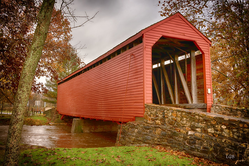 Covered Bridge near Thurmont, MD.