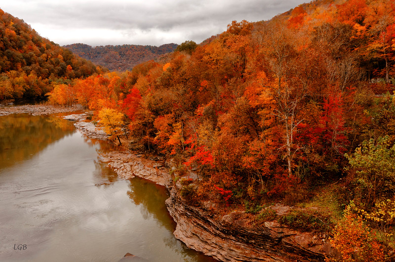 View of Gauley River, WVA