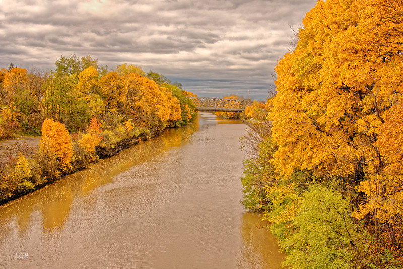 Another view of Erie Canal at Lockport, NY