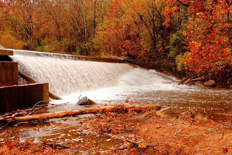 Spillway in Catoctin State Park, Md.