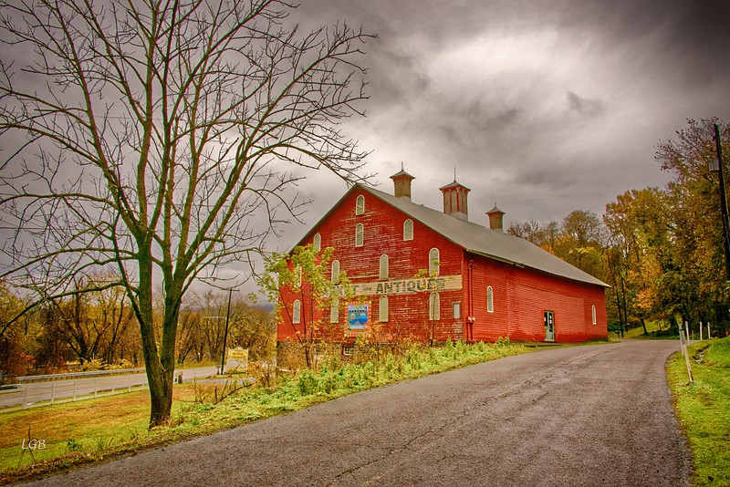Antique Barn, Highway 15, PA