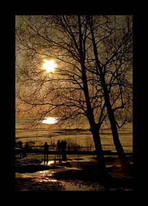 Alaskan Spring Sunset