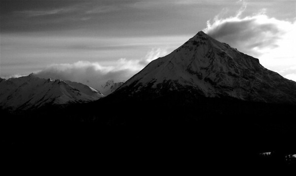 King Mountain B&W