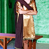 "Mark Maynard | for The Herald Bulletin<br /> Joshua Wilkinson plays the love-struck Hero in ""A Funny Thing Happened on the Way to the Forum"" at Anderson's Mainstage Theatre."