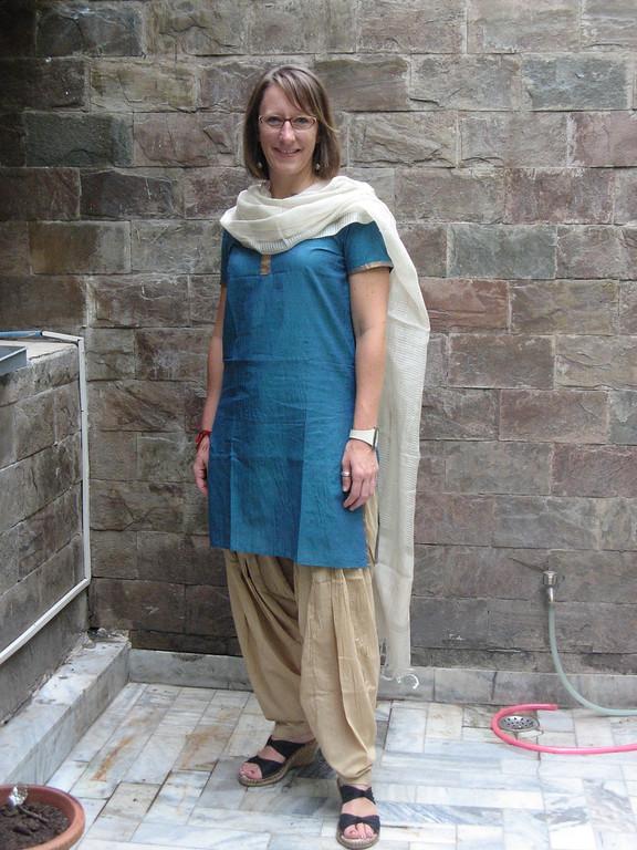 My work attire in India