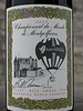 My sticker for the Hot Air Balloon World Championship doubled as a wine label.