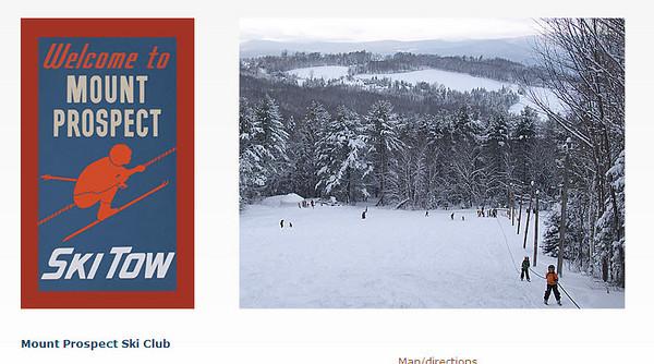 A Meandering ski day 1-16-2011