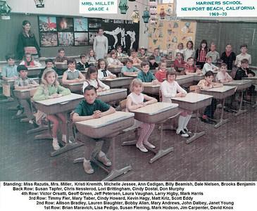 Mrs. Miller's 1969-70 4th grade class.  (Mrs. Miller is now Mrs. Susan White)