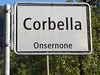 The tiny village of Corbella was my home for a week.