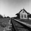 This old railway station looks as if it wants to flip its winged roof and fly away. Leaving Washington D.C. for the West Coast via Canada, I'm most impressed with Pennsylvania. The whole state in 1969 seems a photographer's backdrop.