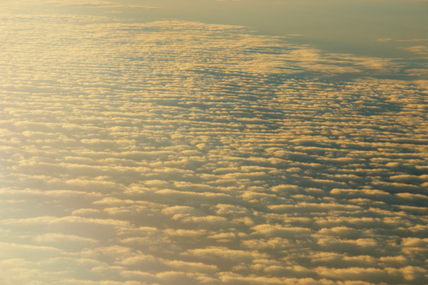 A Passing of Clouds - Plane Flight Skyviews