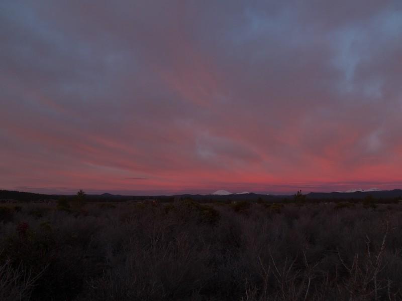 a Central Oregon sunrise