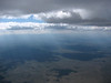 up near the base of a big cloud deck