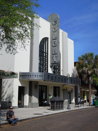 I liked how they maintained the art deco architecture.