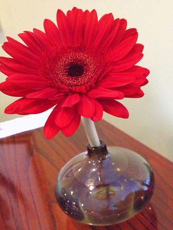 The vase caught my eye.