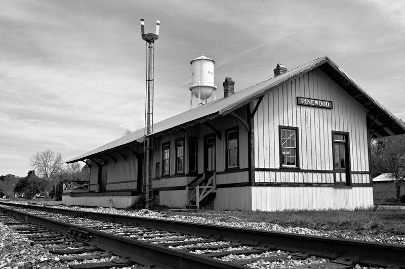 Pinewood, SC, Railroad Station