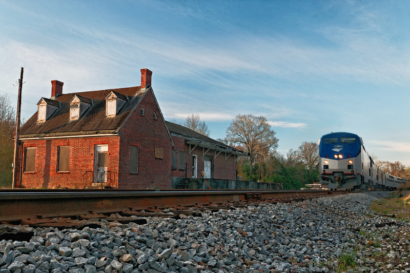 Cheraw Train Station and Amtrak