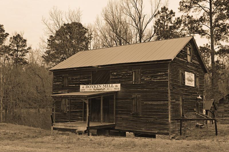 Boykin Mill, 1792, Boykin Village, Hwy 261