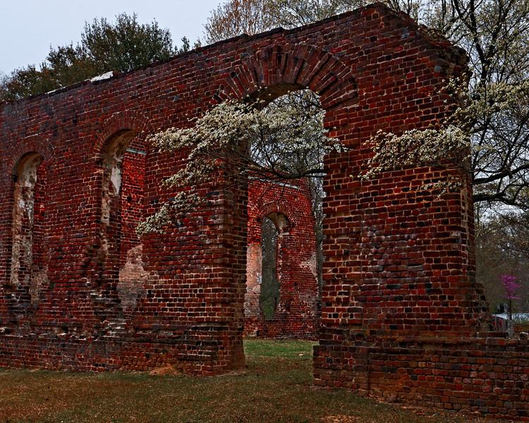 Biggin Church Ruins II